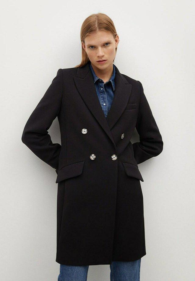 SUGUS - Halflange jas - schwarz
