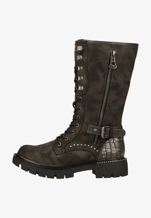 Lace-up boots - dunkelgrau 20