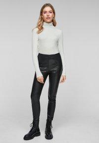 s.Oliver - Long sleeved top - cream melange - 1