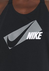 Nike Performance - DRY ELASTIKA - Camiseta de deporte - black/particle grey - 4