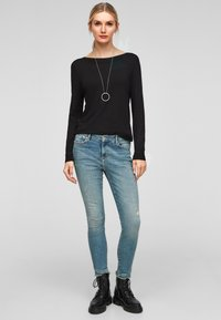 s.Oliver - Jumper - black - 1