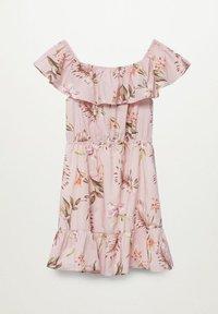 Mango - Day dress - rose clair - 1