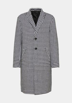 HENNESSEY HOUNDSTOOTH COAT - Klasický kabát - white