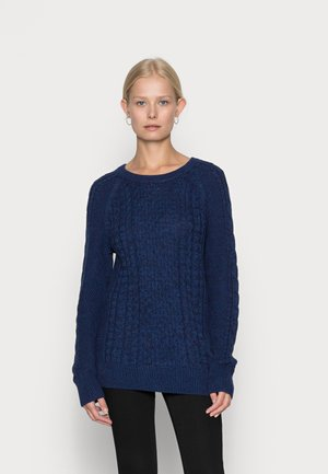 CABLE CREW - Neule - navy marl
