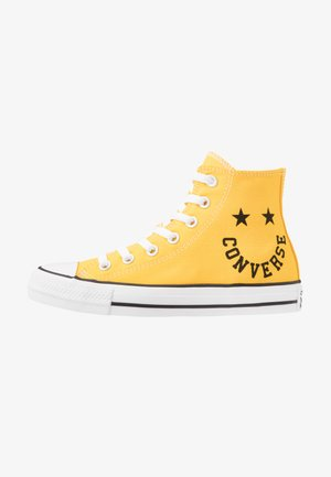 CHUCK TAYLOR ALL STAR - Sneakersy wysokie - amarillo/black/white