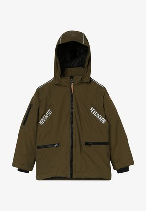 OLI JACKET - Winter coat - dark olive