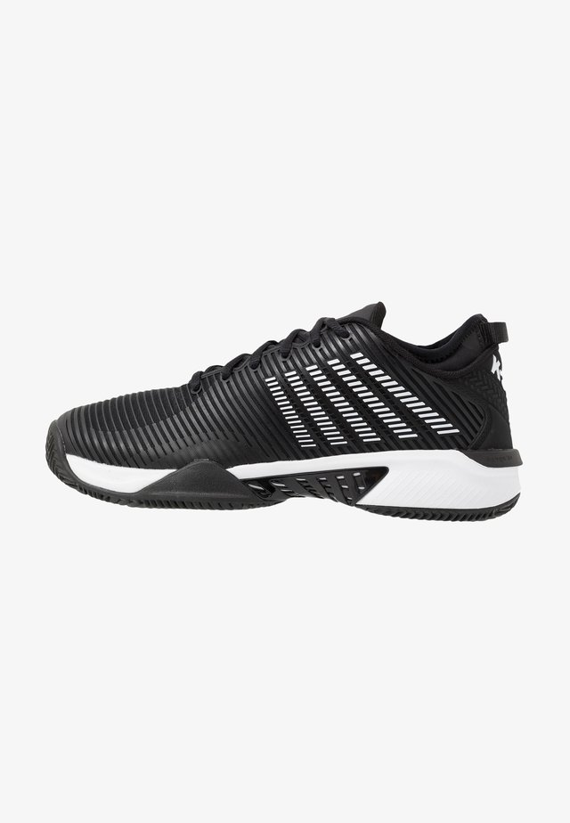 HYPERCOURT SUPREME HB - Clay court tennis shoes - black/white