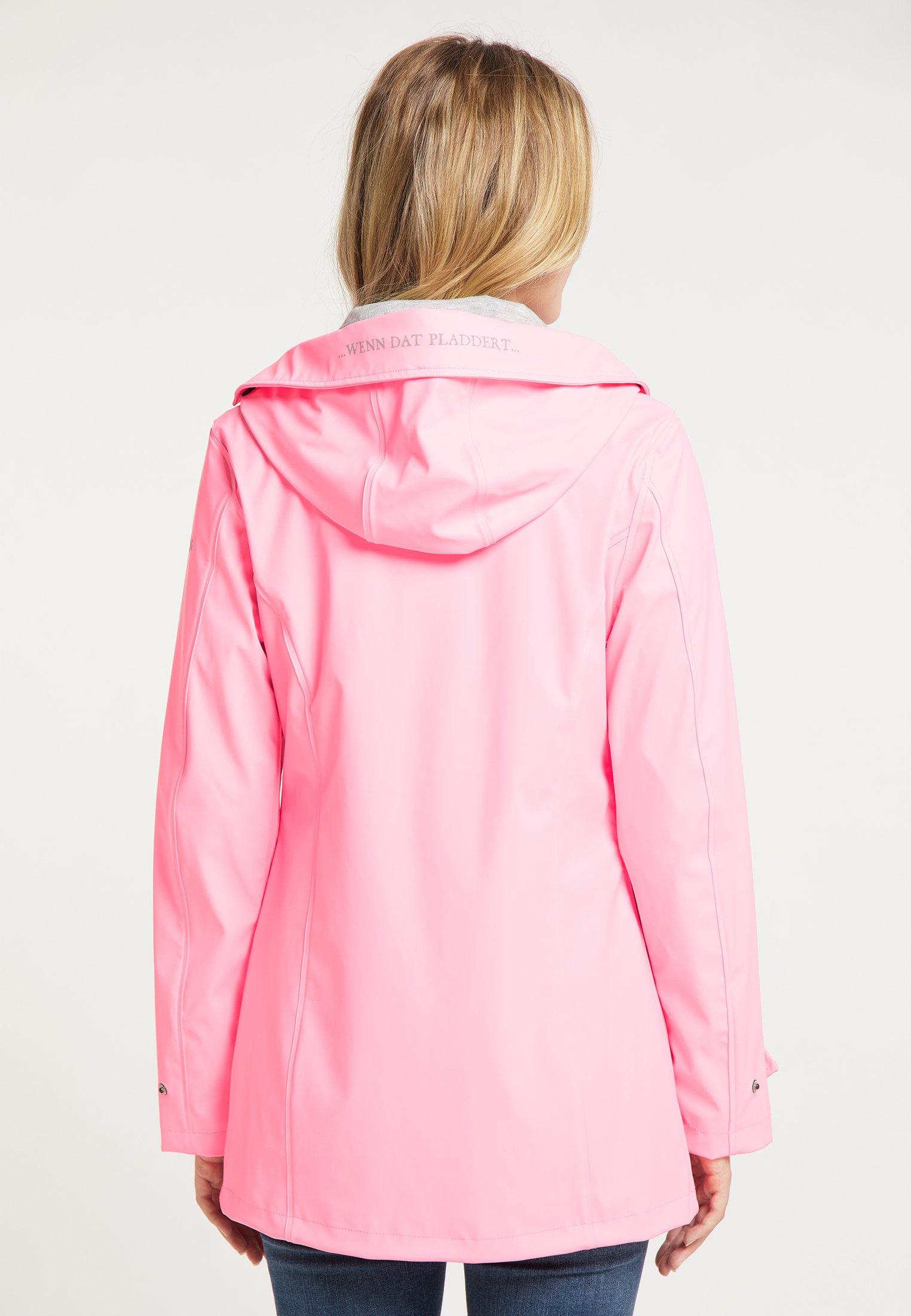 Schmuddelwedda Regenjacke / wasserabweisende Jacke neon pink/pink