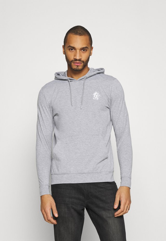 LIGHT WEIGHT BASIS  - Hoodie - grey marl