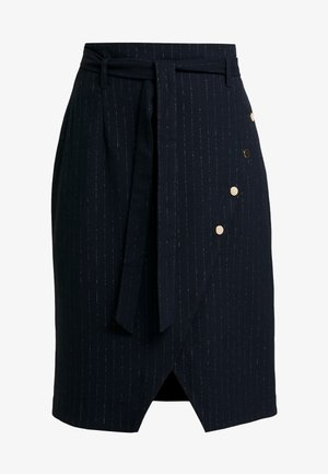 ELISABETH - Blyantnederdel / pencil skirts - bleu marine