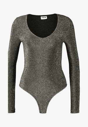 NMINFINITY DEEP BODY - Long sleeved top - gold colour