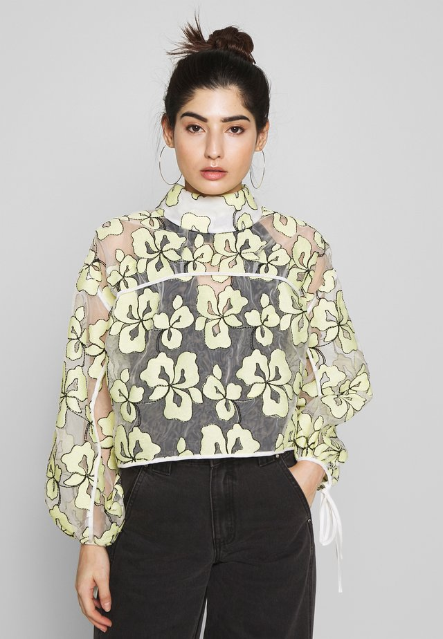 PRINTED TIE BACK - Blouse - multi