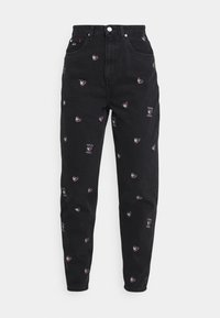 MOM TAPERED - Relaxed fit jeans - denim black