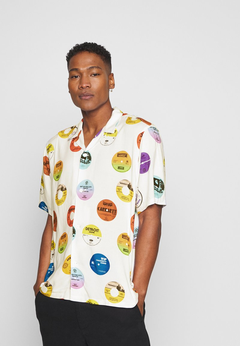 Carhartt WIP - RECORD SHIRT - Camisa - multi-coloured