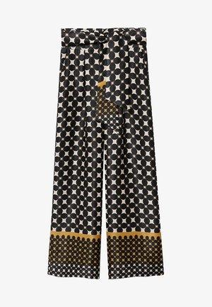 MONKEY - Pantalon classique - schwarz