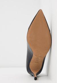 Pura Lopez - High heels - navy blue/nero - 6