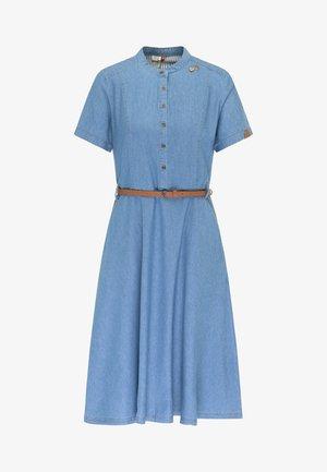 ALUNA - Denim dress - indigo