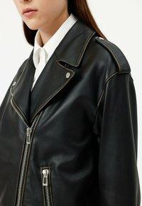 HUGO - LITSA - Leather jacket - black - 4