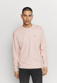 Calvin Klein - DYE CHESTLOGO - Mikina - pink - 0