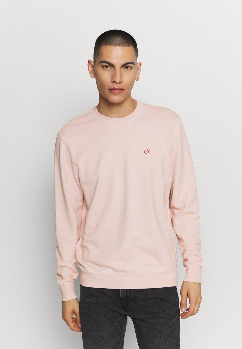 Calvin Klein - DYE CHESTLOGO - Mikina - pink