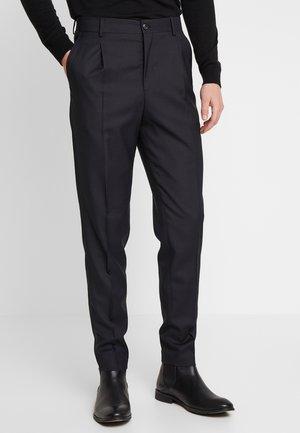 JPRPHILIP HIGH WAIST TROUSER - Spodnie garniturowe - black