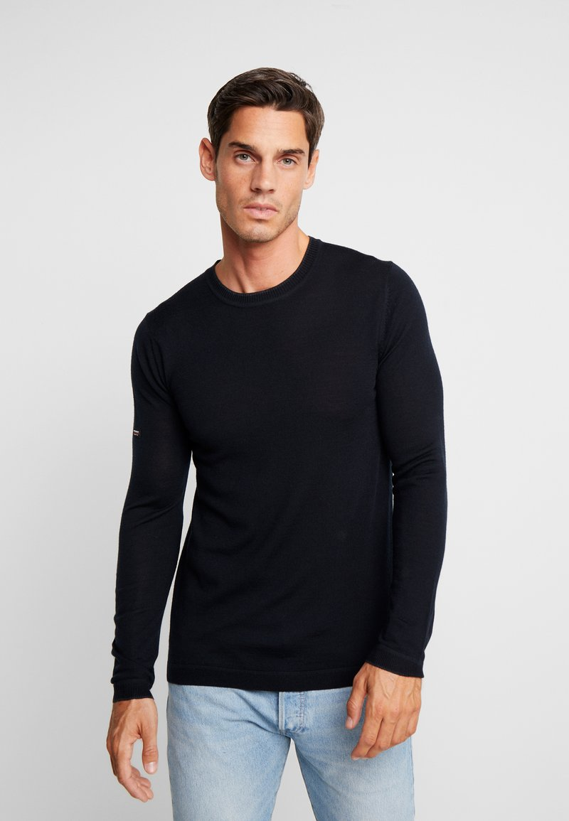 Superdry - Strickpullover - nightwatch black