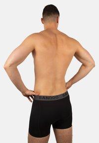 Bandoo Underwear - 2PACK - Pants - black,black - 1