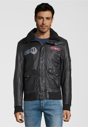 CRUISE LNVV W - Leather jacket - black
