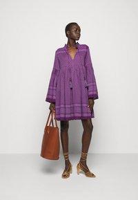 CECILIE copenhagen - SOUZARICA - Day dress - plum - 1