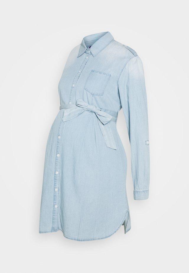 JUSTINE - Jersey dress - denim