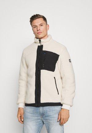 Fleece jacket - antique white