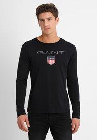 GANT - SHIELD - Maglietta a manica lunga - black - 0