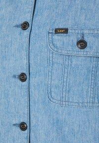 Lee - SHORTSLEEVE JACKET - Denim jacket - blue - 2
