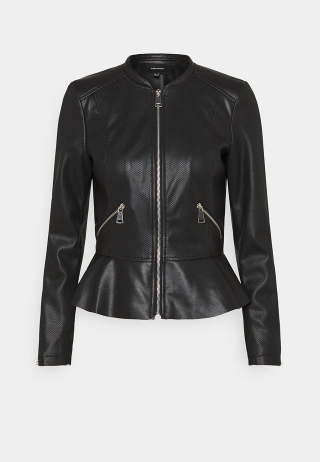 VMAVERYALLY JACKET - Kunstlederjacke - black
