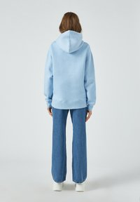 PULL&BEAR - Sweat à capuche - neon blue - 4