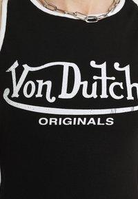 Von Dutch - ASHLEY RACER CROPPED - Top - black - 5