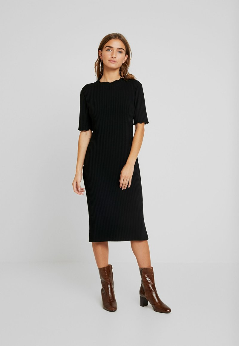 Zign Petite - Vestido de punto - black