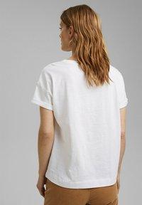 Esprit - Print T-shirt - white colorway - 2