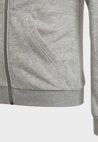 adidas Performance - Sweat à capuche zippé - grey - 4