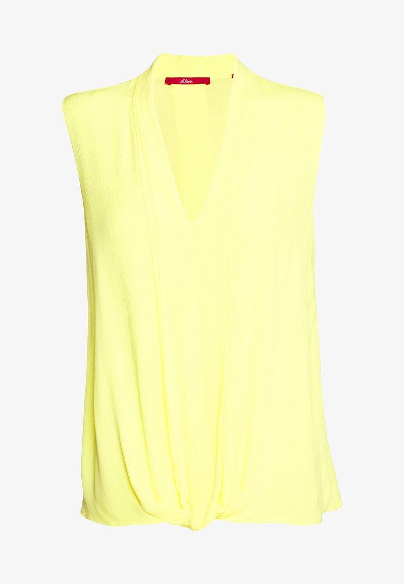 s.Oliver - Camicetta - yellow