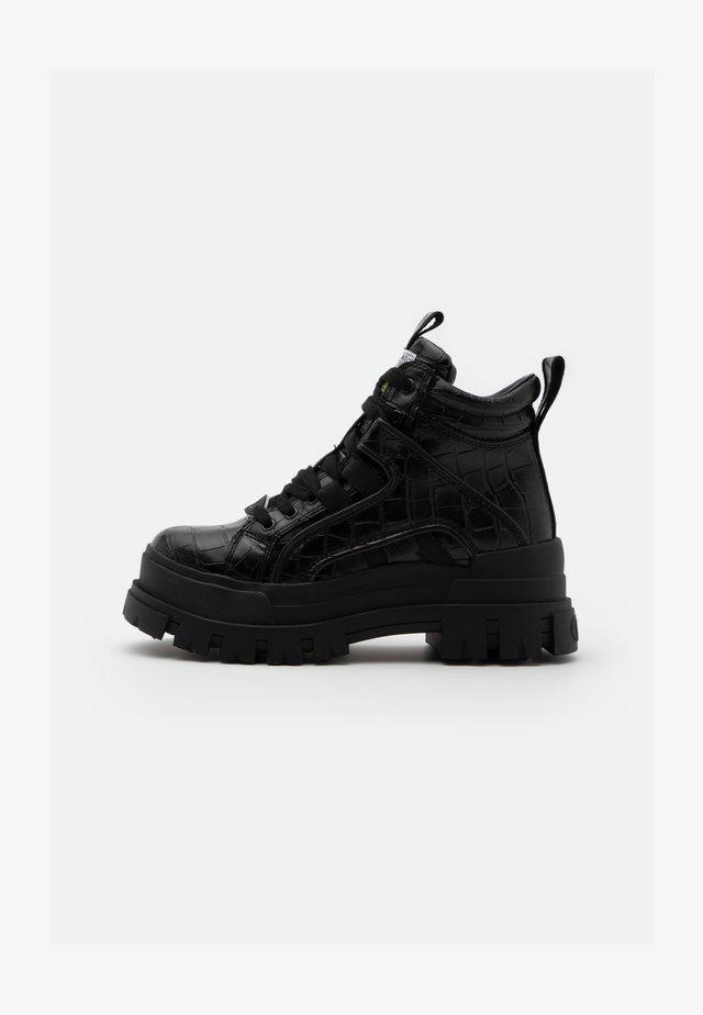ASPHA MID - Boots à talons - black