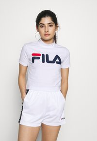 Fila Petite - EVERY TURTLE TEE - T-shirt con stampa - bright white - 0