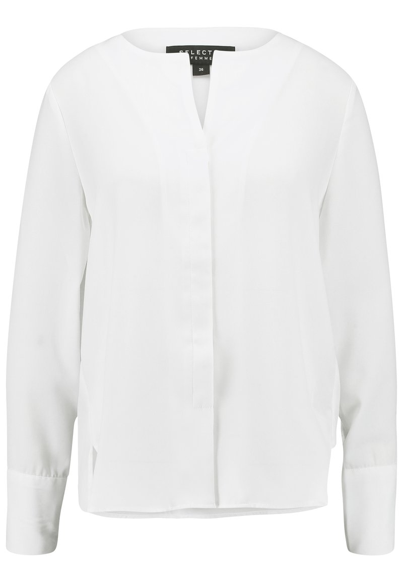 Selected Femme - SLFSTINA DYNELLA - Blouse - creme