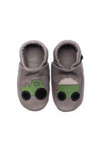 Pantau - First shoes - grau / apfelgrün - 3