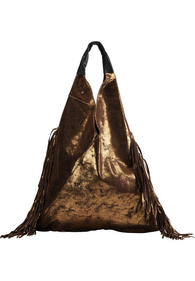 Tote bag - vintage gold