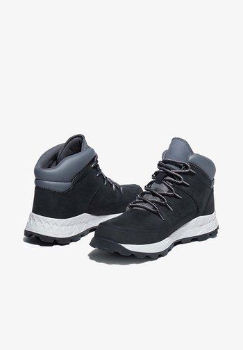SPRINT - Höga sneakers - jet black