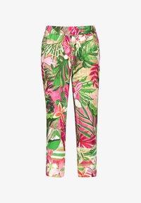 Gerry Weber - Trousers - pink/grün - 3
