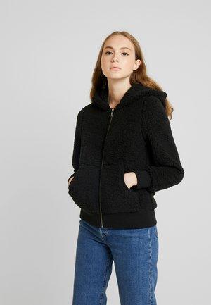 ONYCAROLINE - Fleece jacket - black