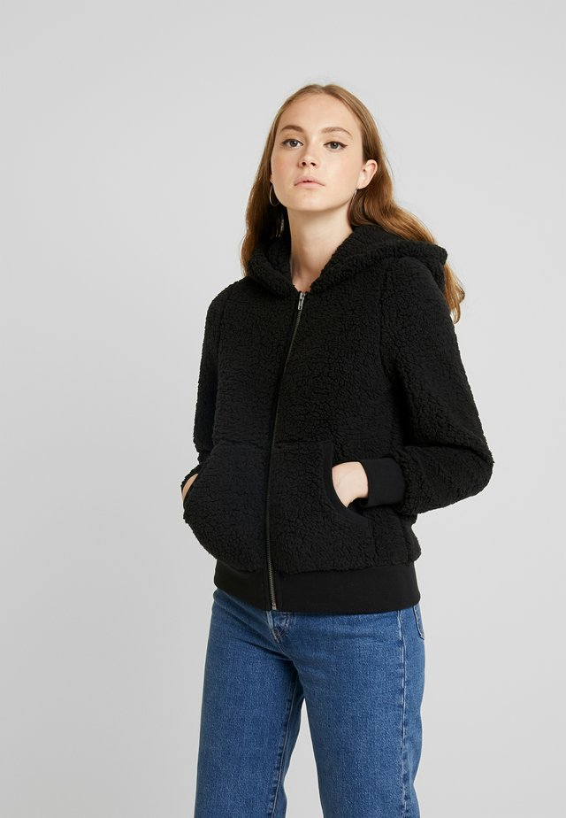 ONYCAROLINE - Fleece jacket - black