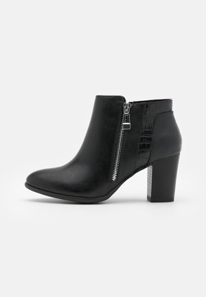 WIDE FIT WATERFALL - Ankelboots - black